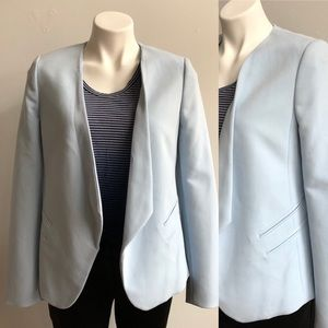 The Limited Baby Blue Blazer